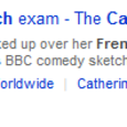 Catherine Tate Lauren French Oral sketch